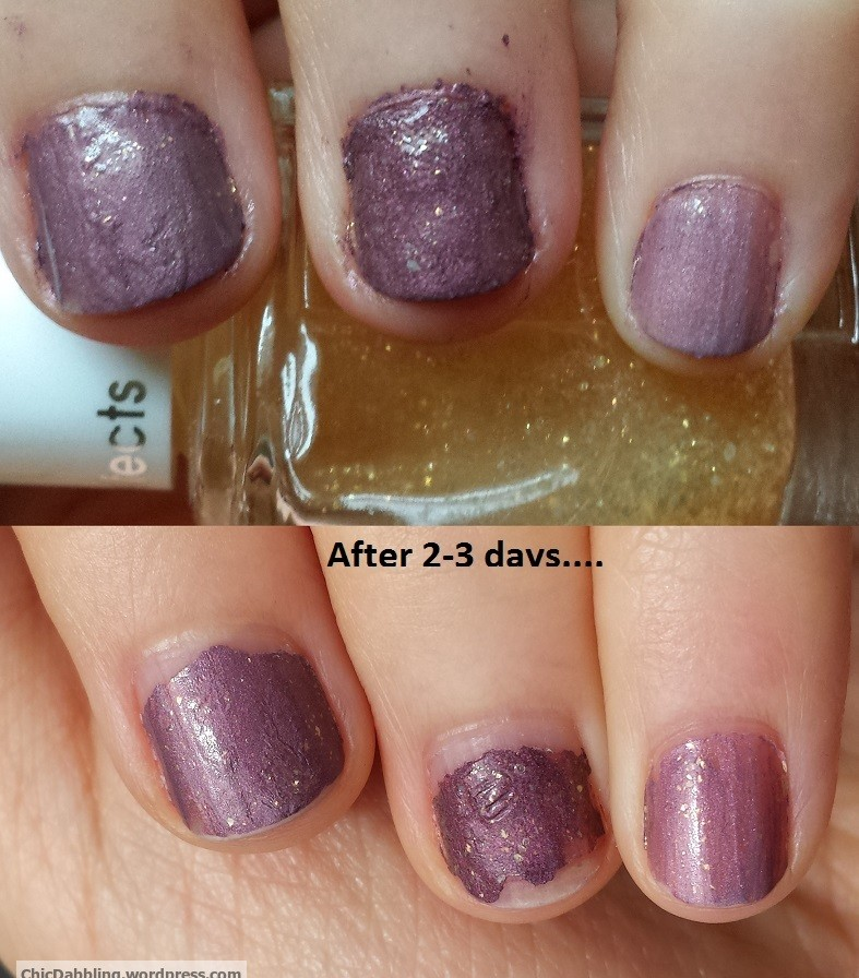 DIY: eyeshadow to nail polish? | Chic Dabbling