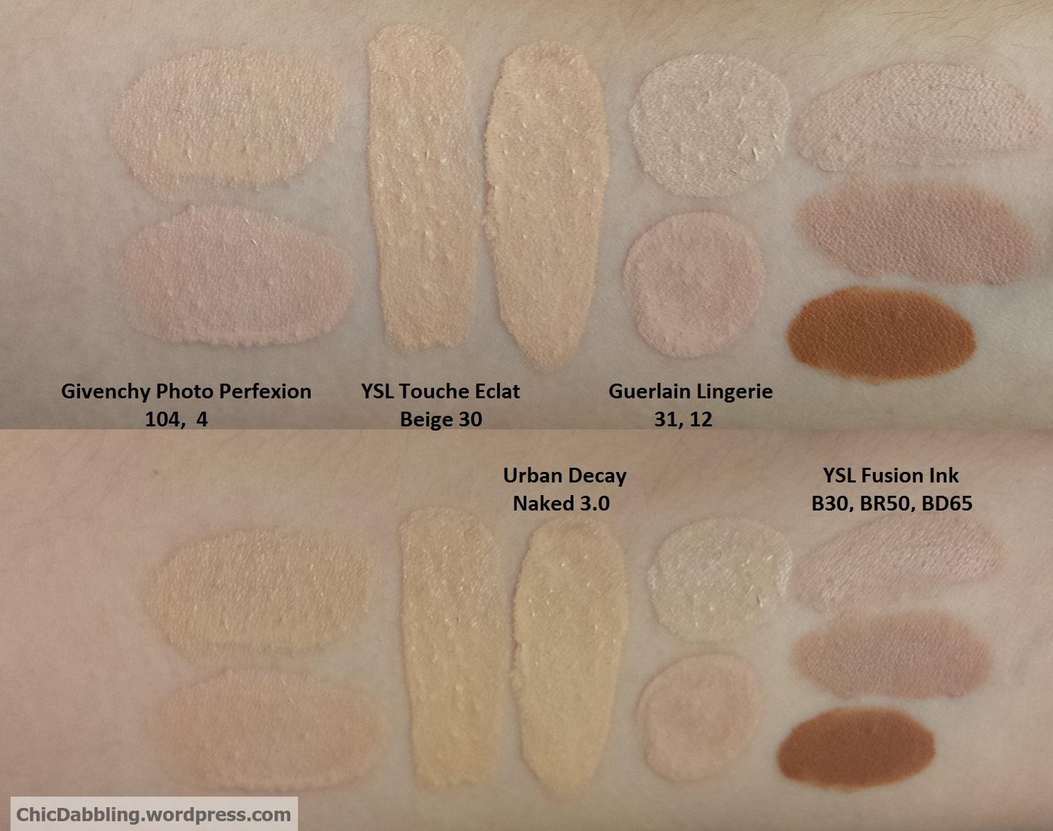 Makeup forever mat velvet shades